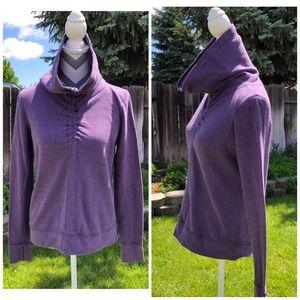 Lululemon Purple Cowl Neck Pullover Sweatshirt